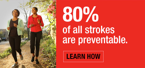80% of All Strokes are Preventable
