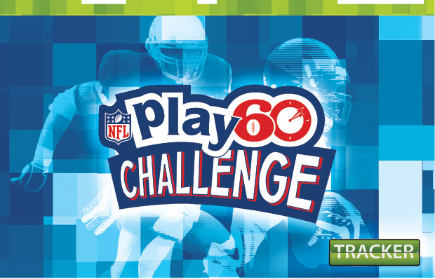 NFL Play 60 Challenge Tracker
